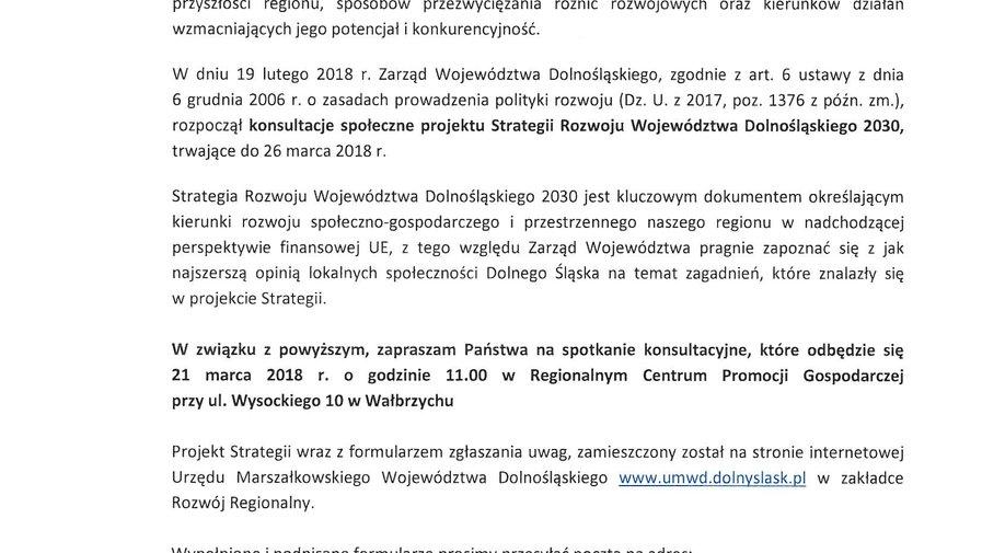 Strategia Rozwoju Województwa Dolnośląskiego 2030