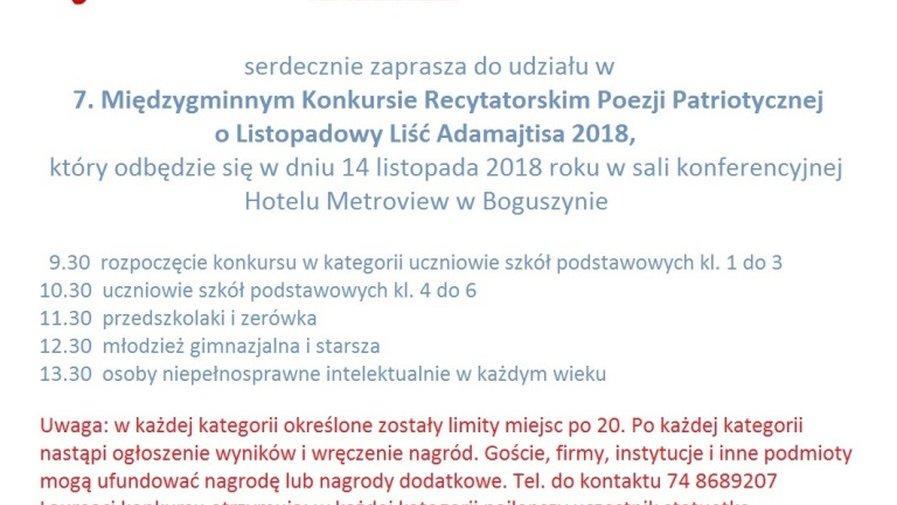 Listopadowe prezentacje literackie, czyli…