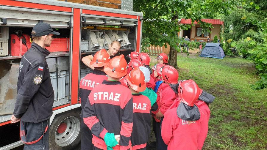 Obóz dla małych strażaków