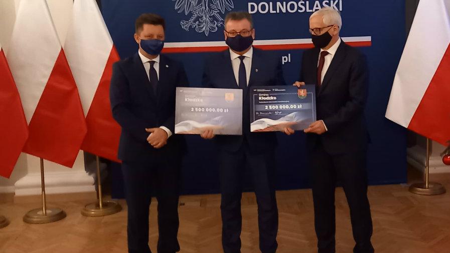 5 milionów złotych dla naszej gminy