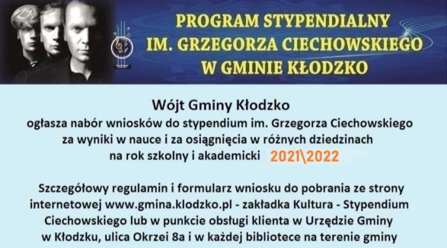Stypendium Ciechowskiego na wyciągnięcie ręki